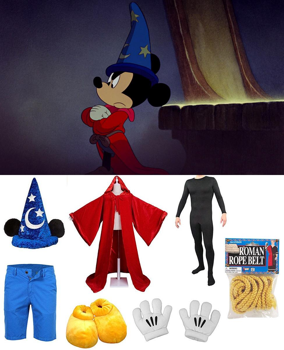 Sorcerer Mickey Mouse from Fantasia Cosplay Guide