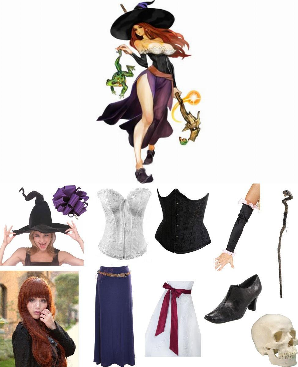 Sorceress from Dragon's Crown Cosplay Guide