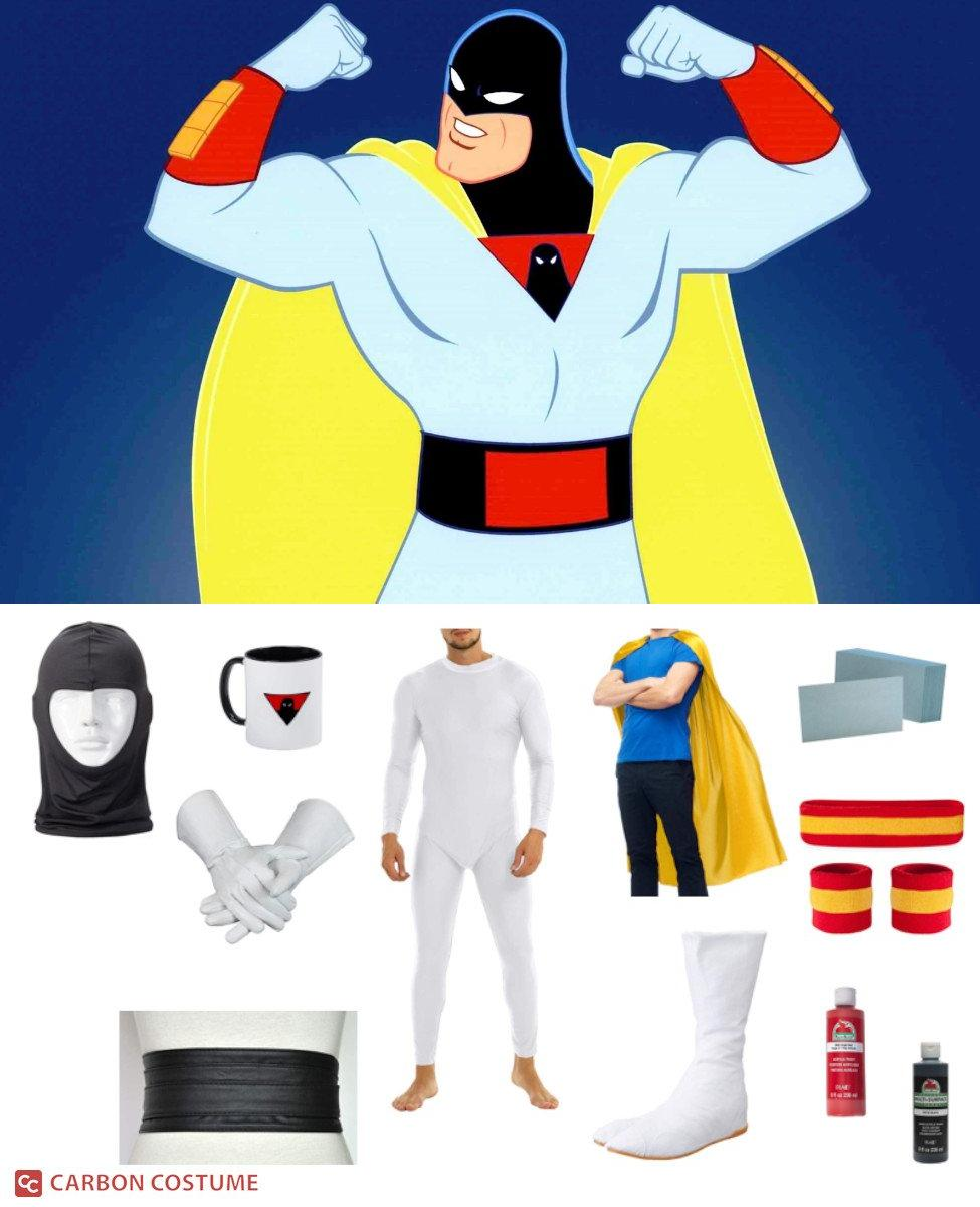 Space Ghost from Space Ghost Coast to Coast Cosplay Guide