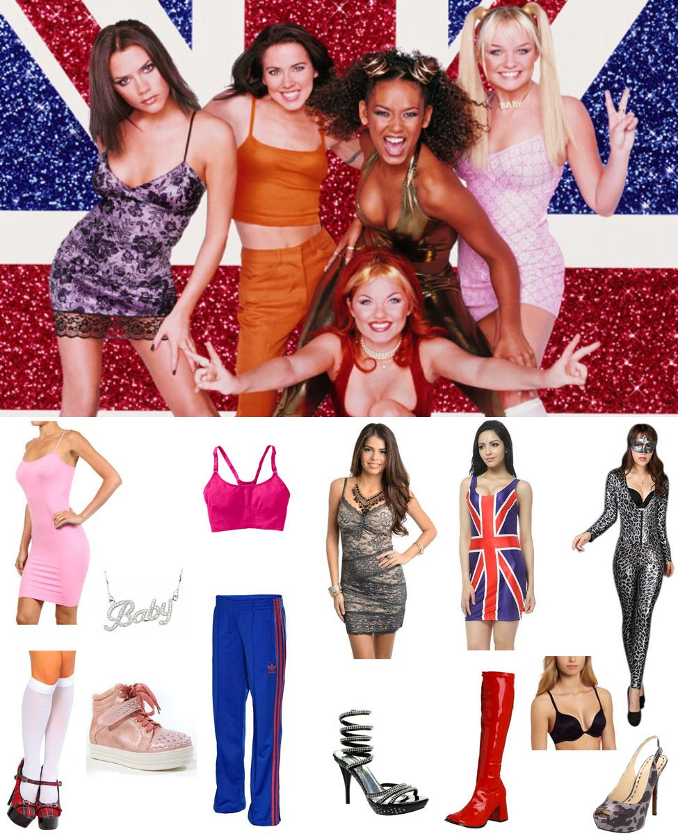 Spice Girls Cosplay Guide