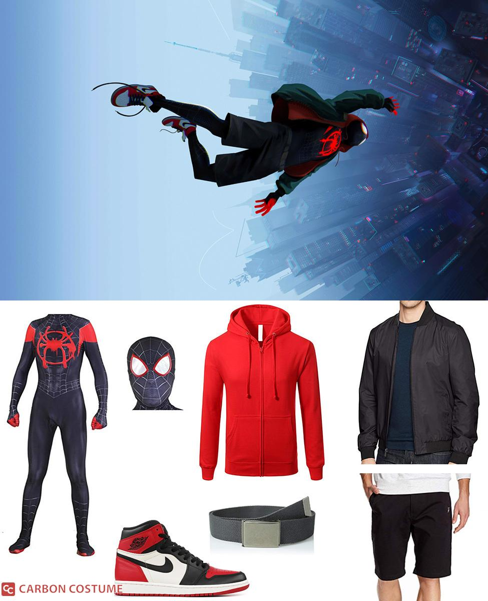 Spider-Man (Miles Morales) from Into the Spider-Verse Cosplay Guide
