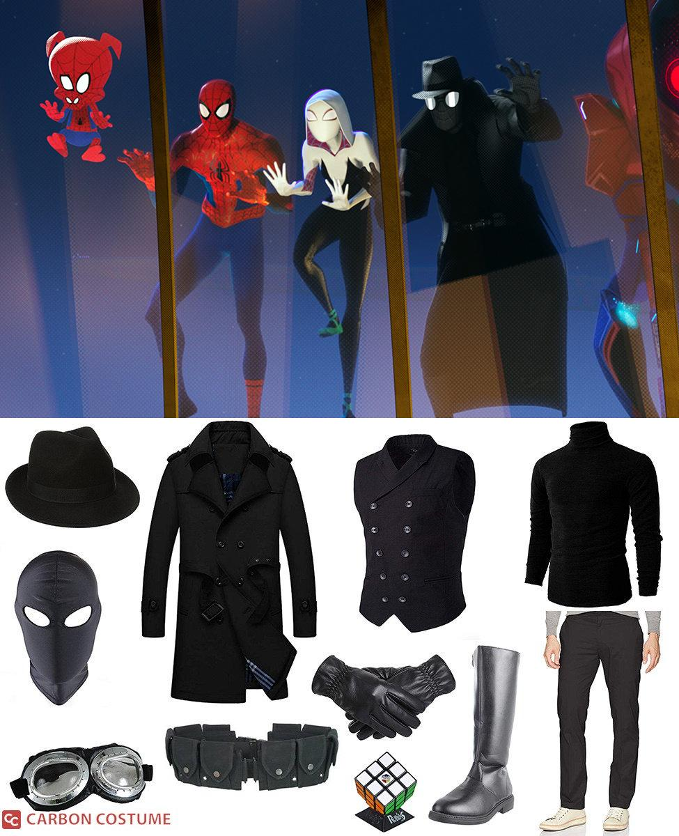 Spider-Man Noir from Spider-Man: Into the Spider-Verse Cosplay Guide