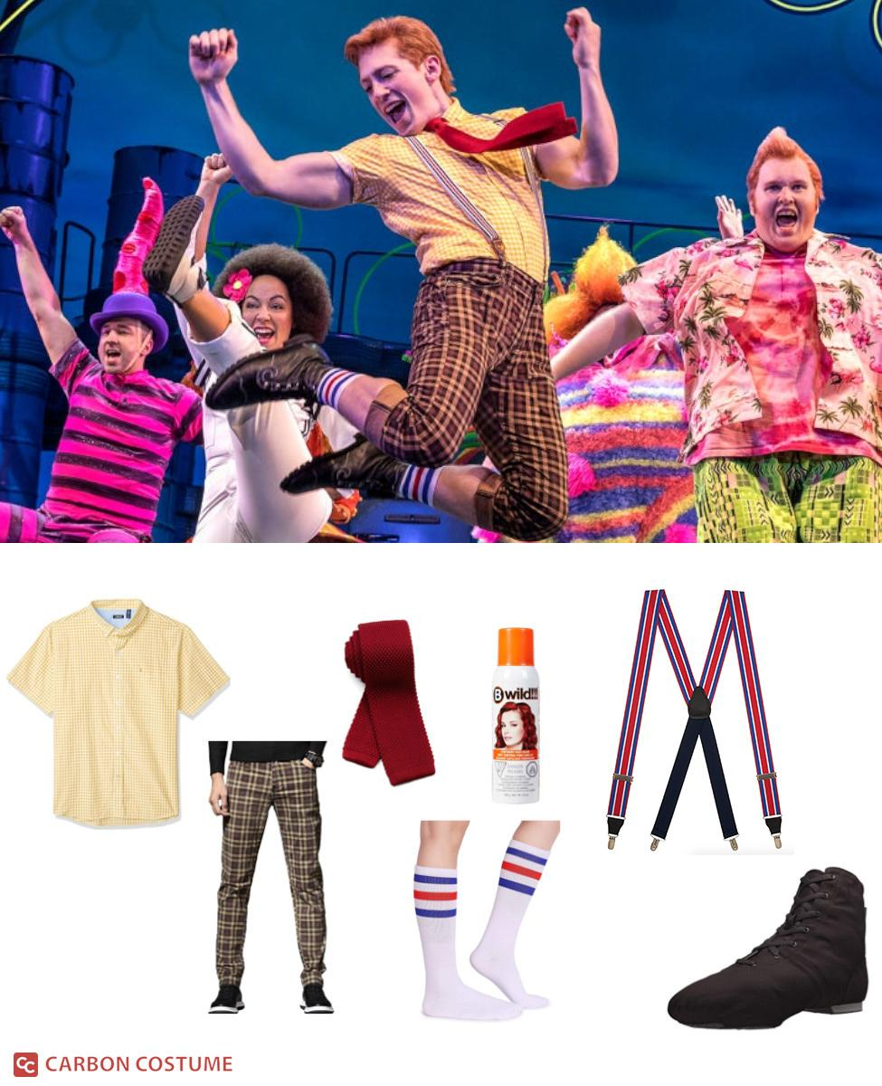 SpongeBob SquarePants from The Broadway Musical Cosplay Guide