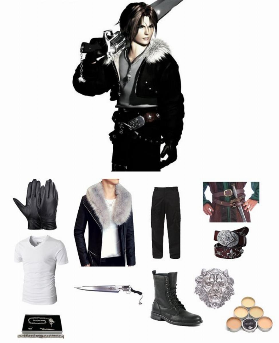 Squall Leonhart in Final Fantasy VIII Cosplay Guide
