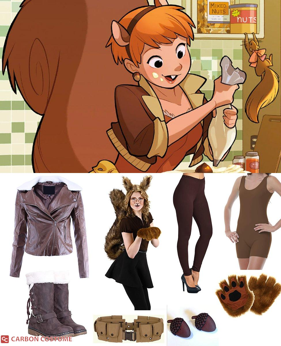 Squirrel Girl Cosplay Guide