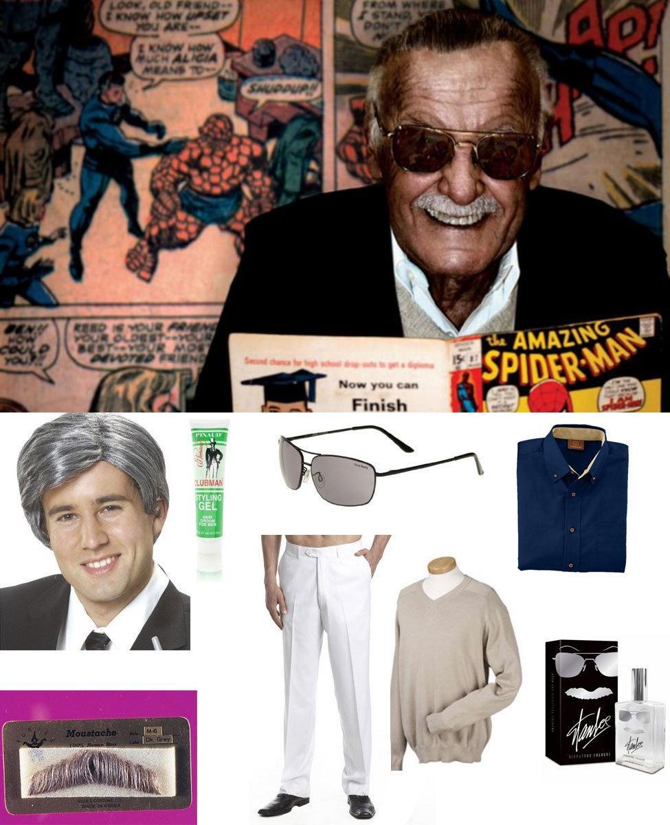 Stan Lee Cosplay Guide