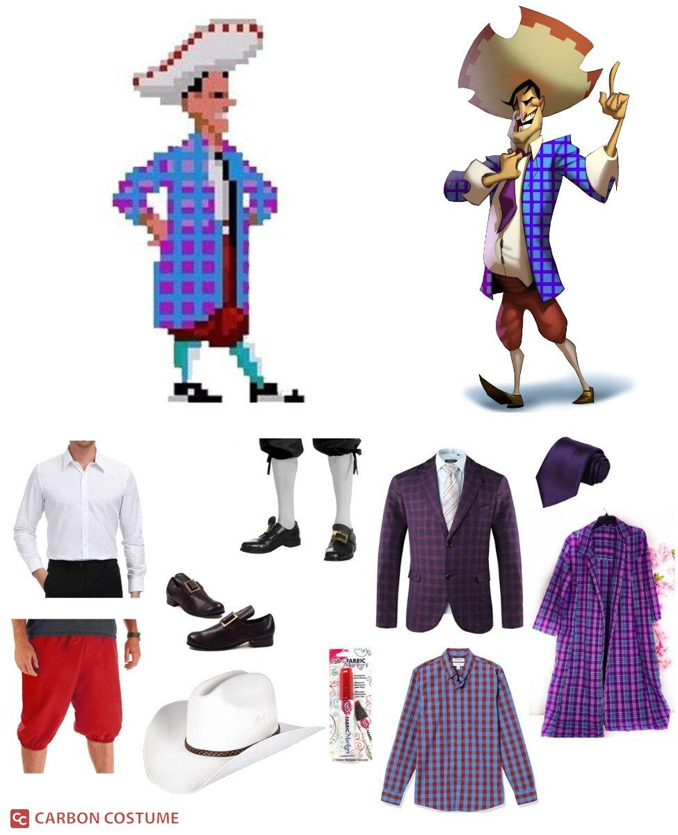 Stan S. Stanman from Monkey Island Cosplay Guide