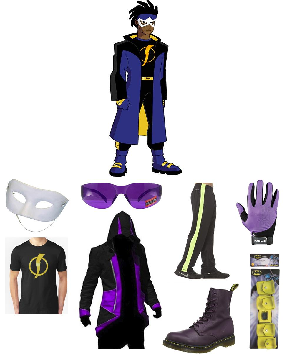 Static Shock Cosplay Guide