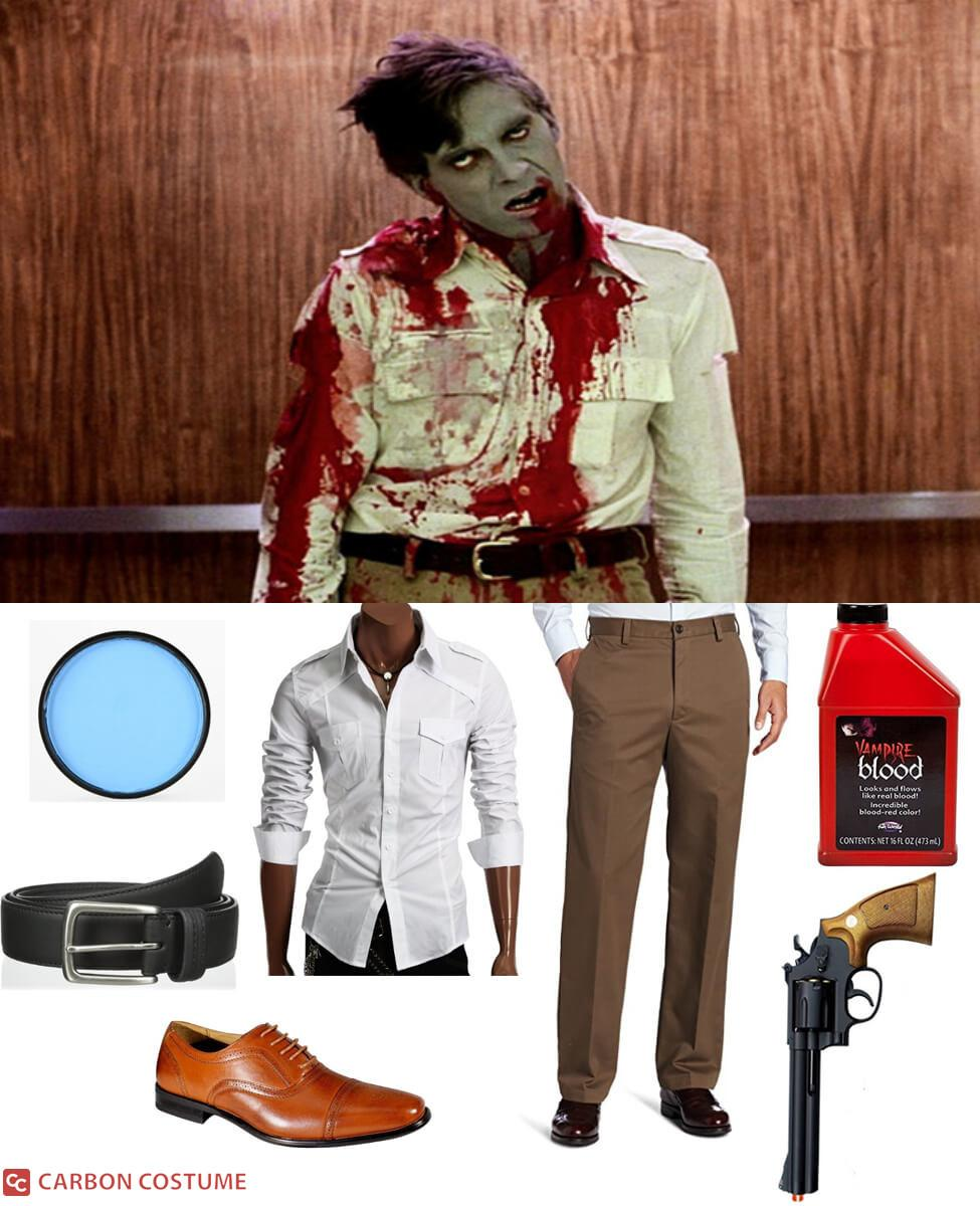 """Stephen """"Flyboy"""" Andrews from Dawn of the Dead Cosplay Guide"""