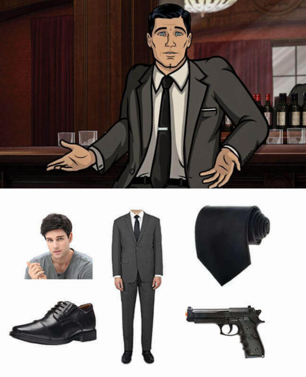 Sterling Archer Cosplay Guide