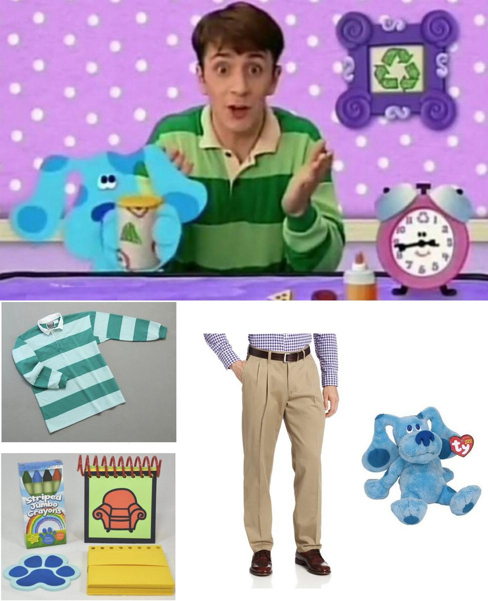 Steve from Blue's Clues Cosplay Guide