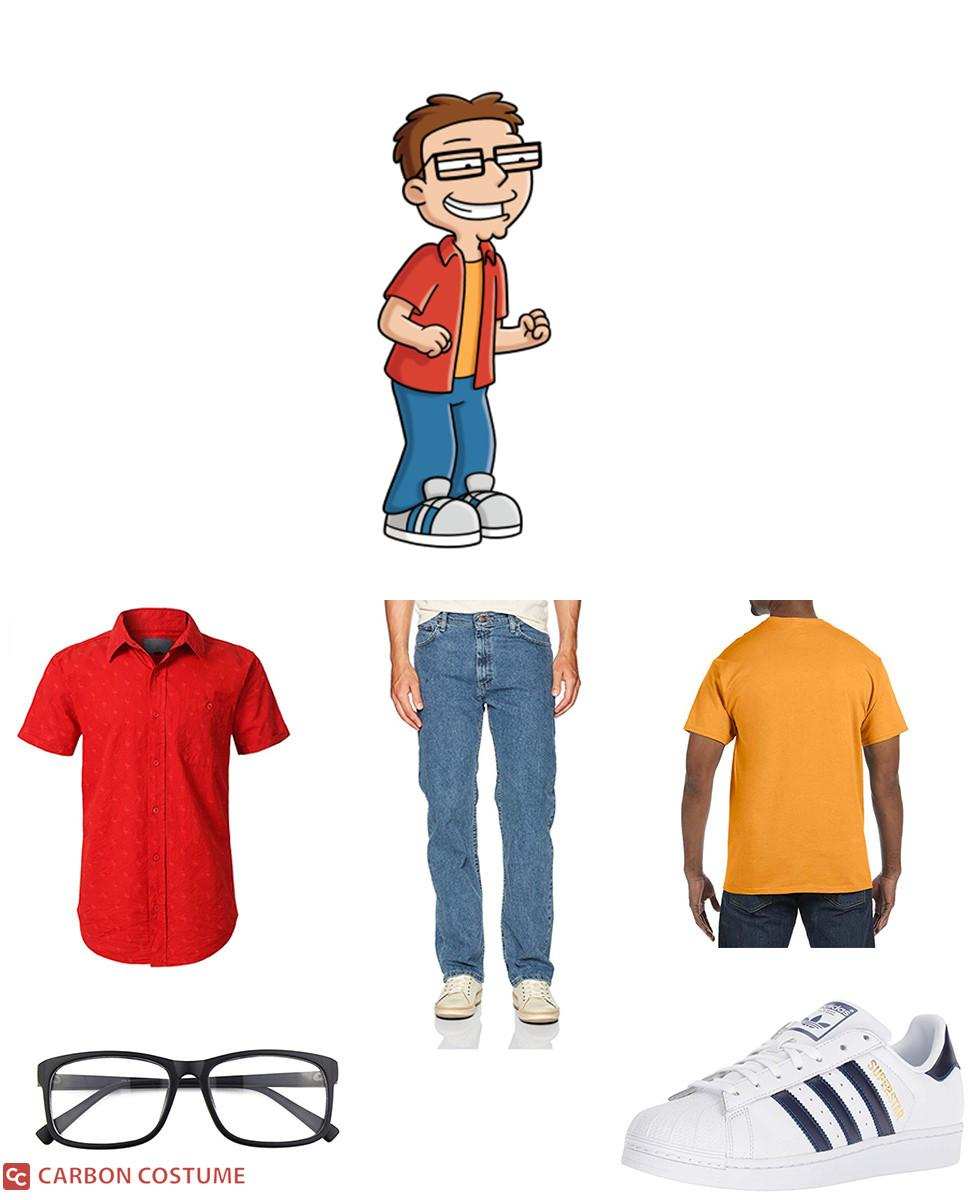 Steve Smith from American Dad Cosplay Guide