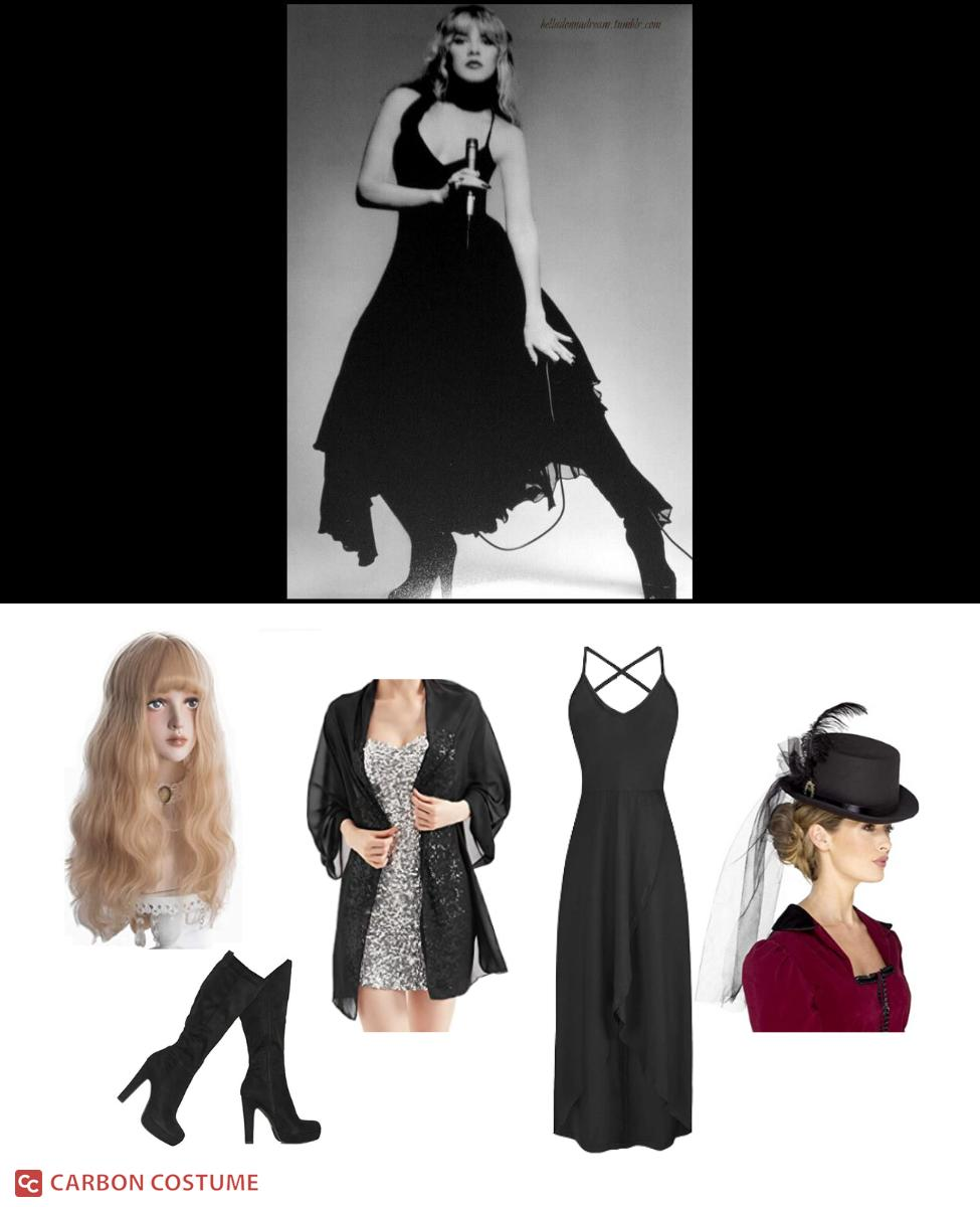 Stevie Nicks from Fleetwood Mac Cosplay Guide