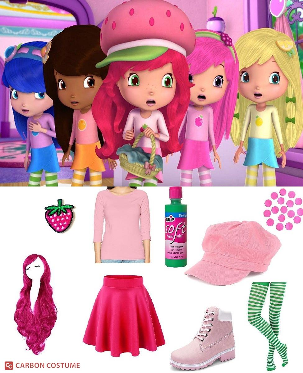 Strawberry Shortcake from Berry Bitty Adventures Cosplay Guide