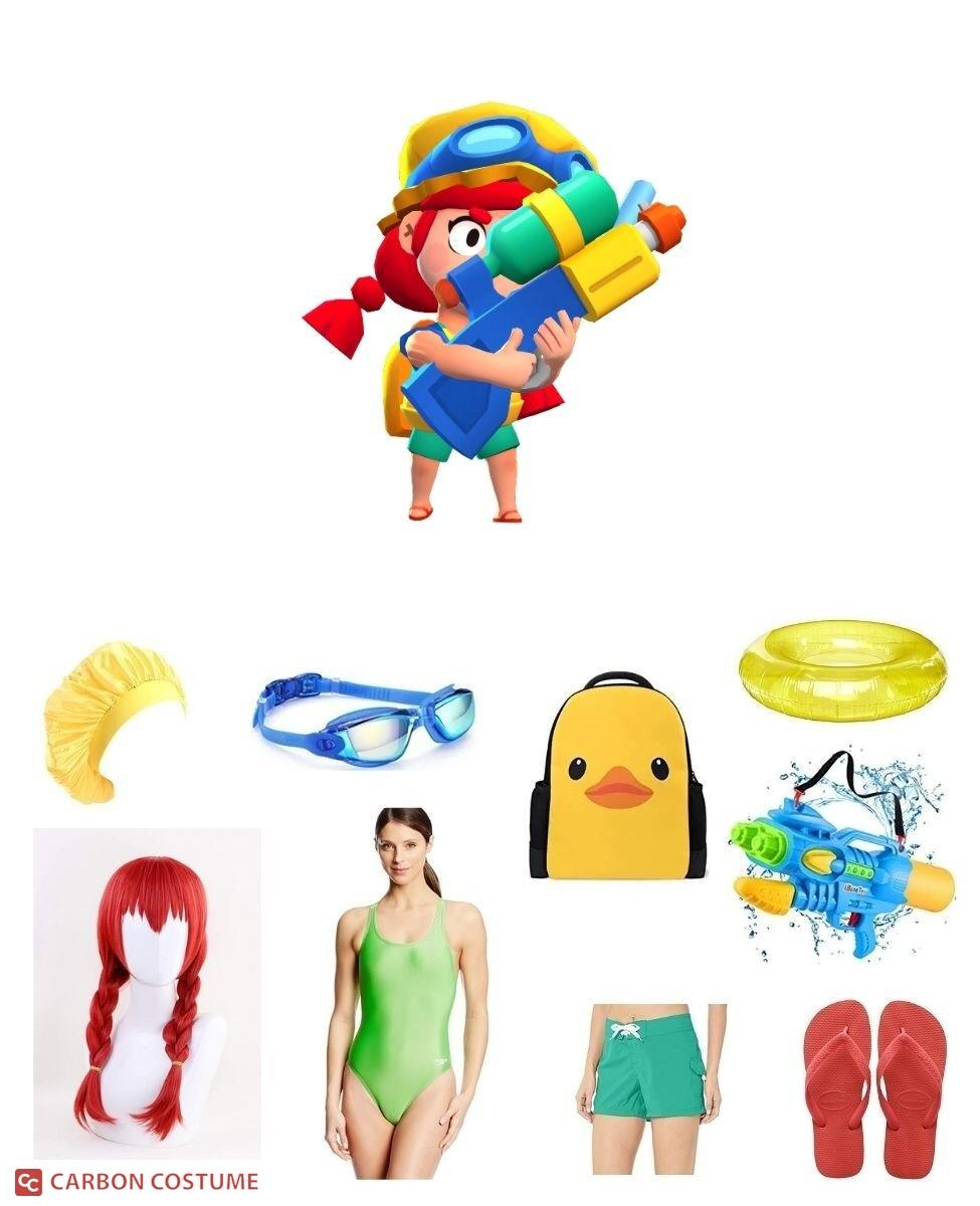 Summer Jessie from Brawl Stars Cosplay Guide