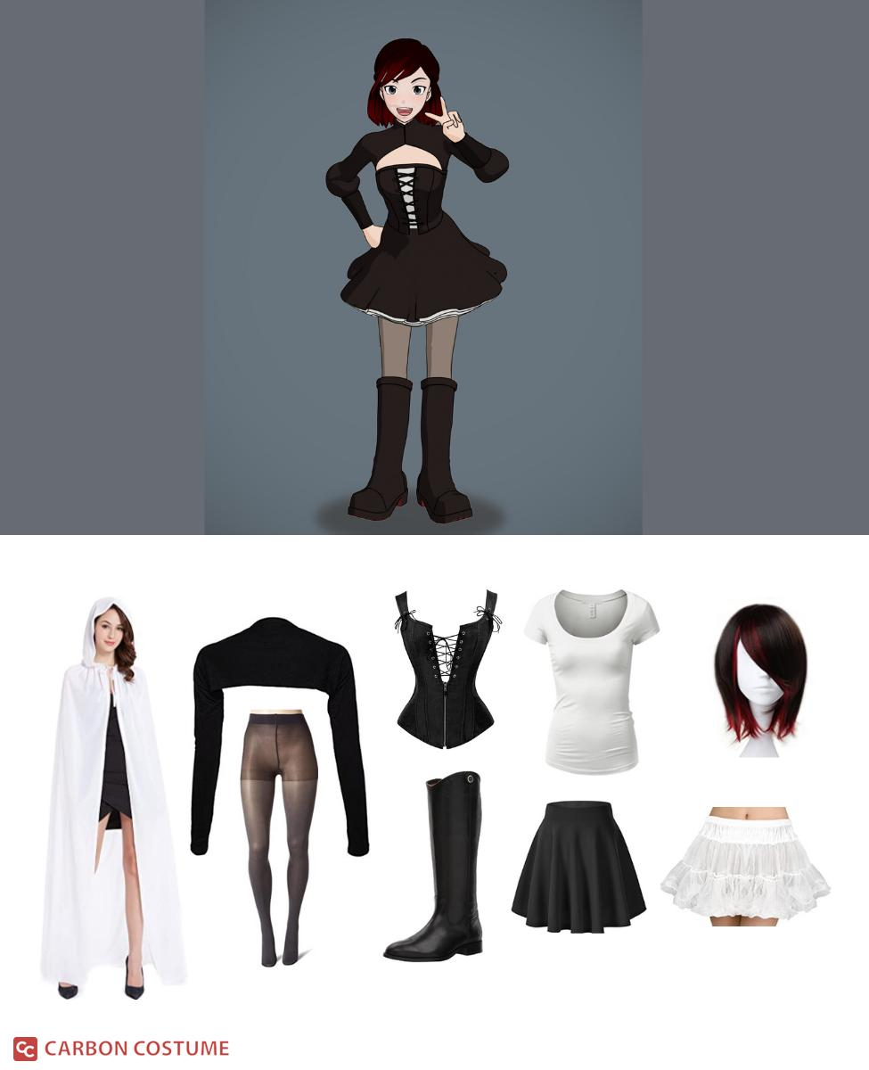 Summer Rose from RWBY Cosplay Guide