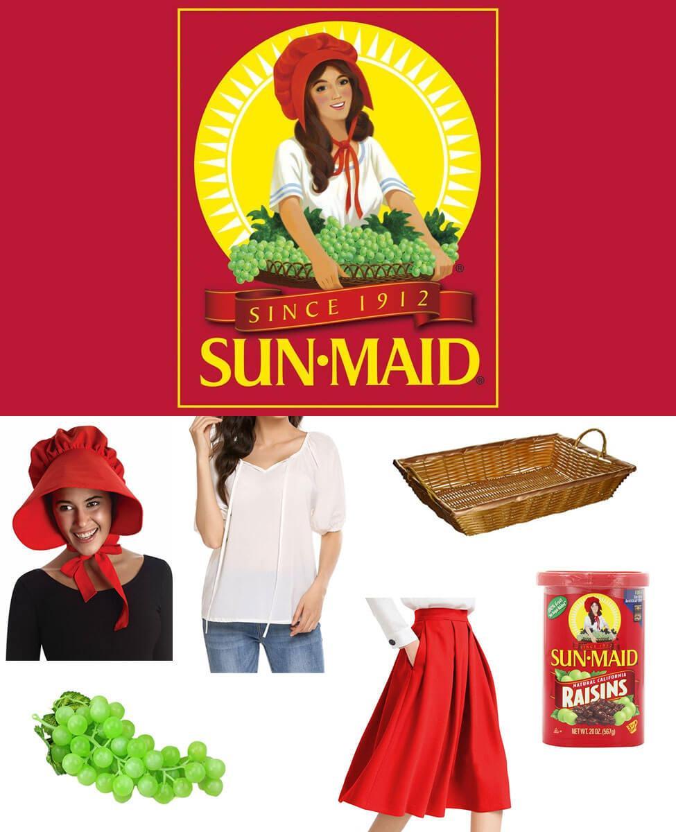 Sun-Maid Raisin Girl Cosplay Guide