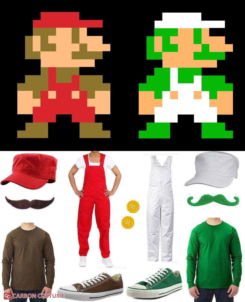 Super Mario Brothers from NES Cosplay Guide
