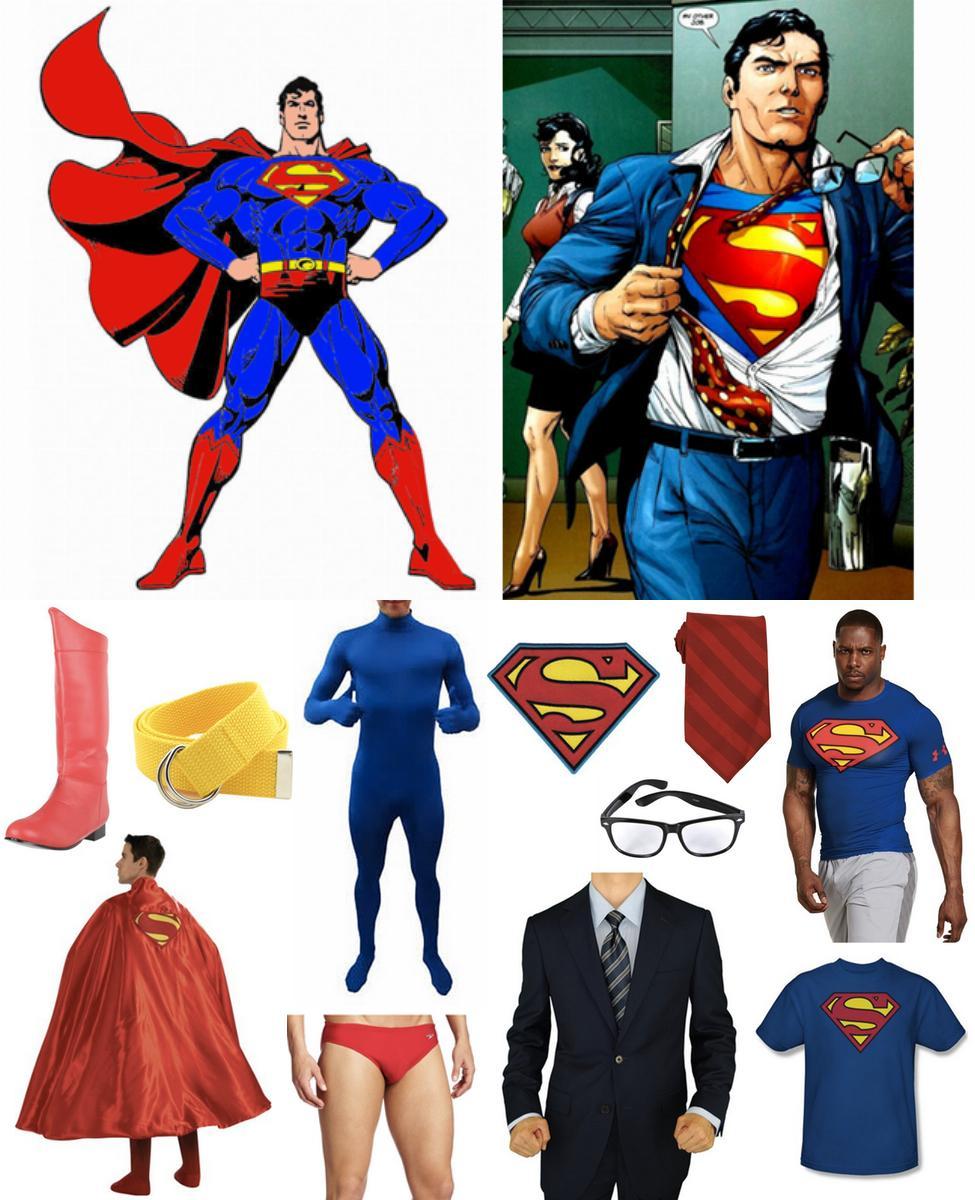 Superman / Clark Kent Cosplay Guide