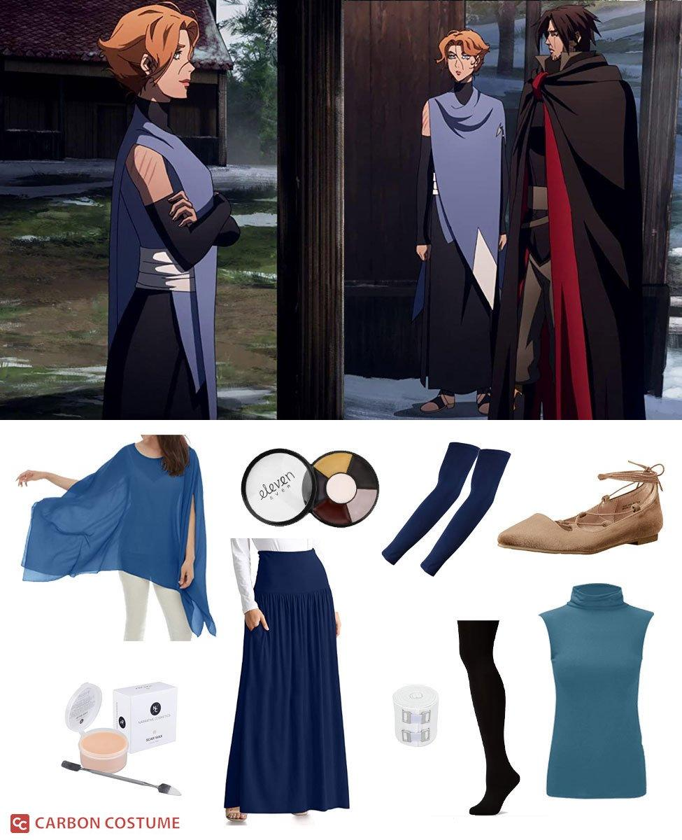 Sypha Belnades from Castlevania Cosplay Guide