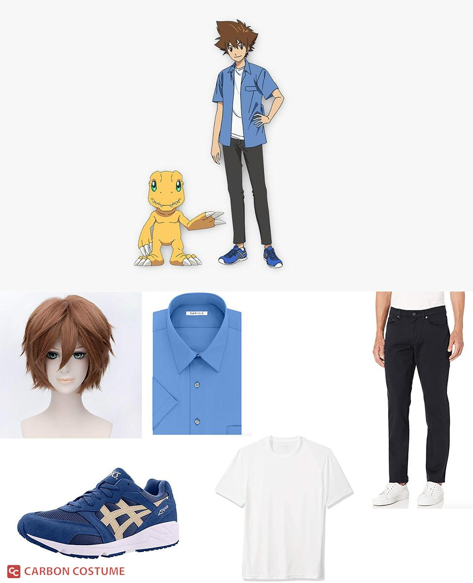 Tai Kamiya from Digimon Adventure: Last Evolution Kizuna Cosplay Guide