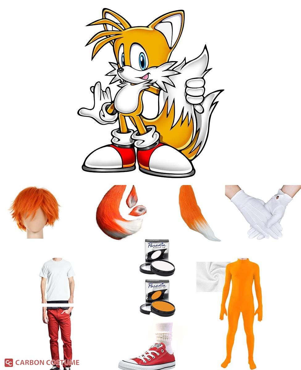 Tails from Sonic the Hedgehog Cosplay Guide