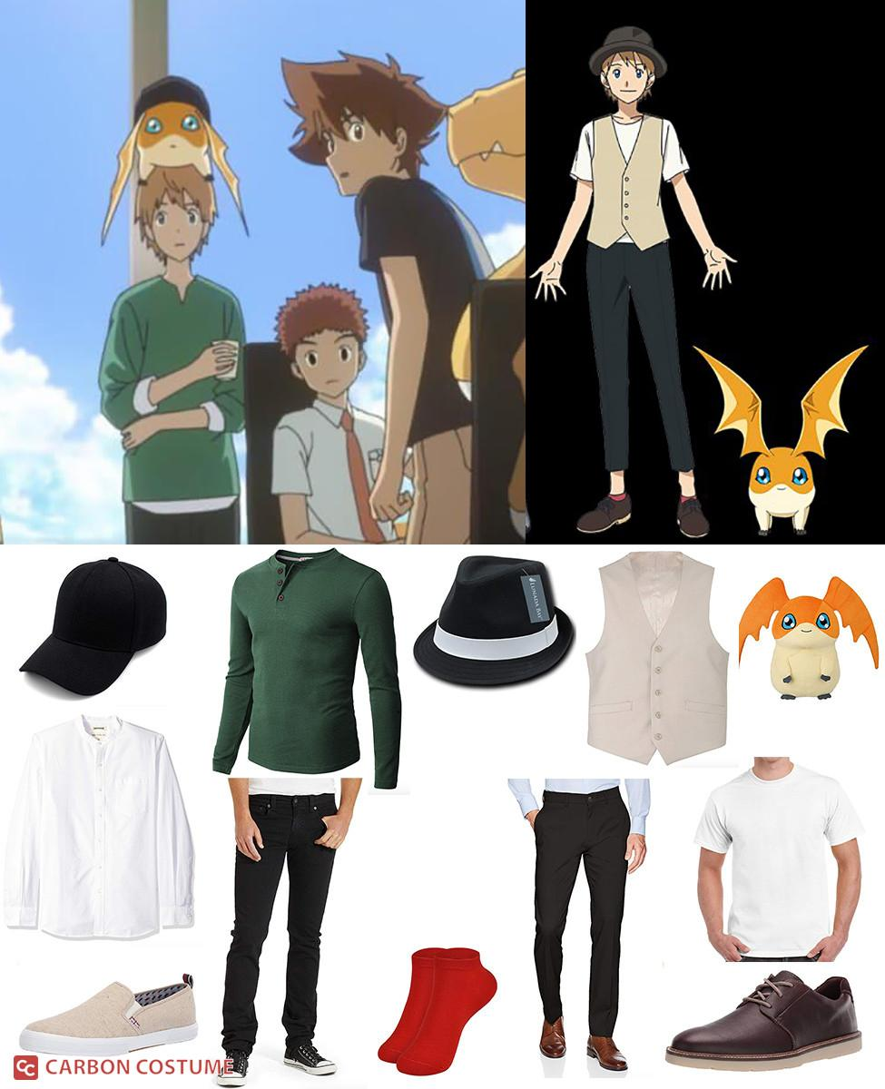 Takeru Takaishi from Digimon Adventure: Last Evolution Kizuna Cosplay Guide