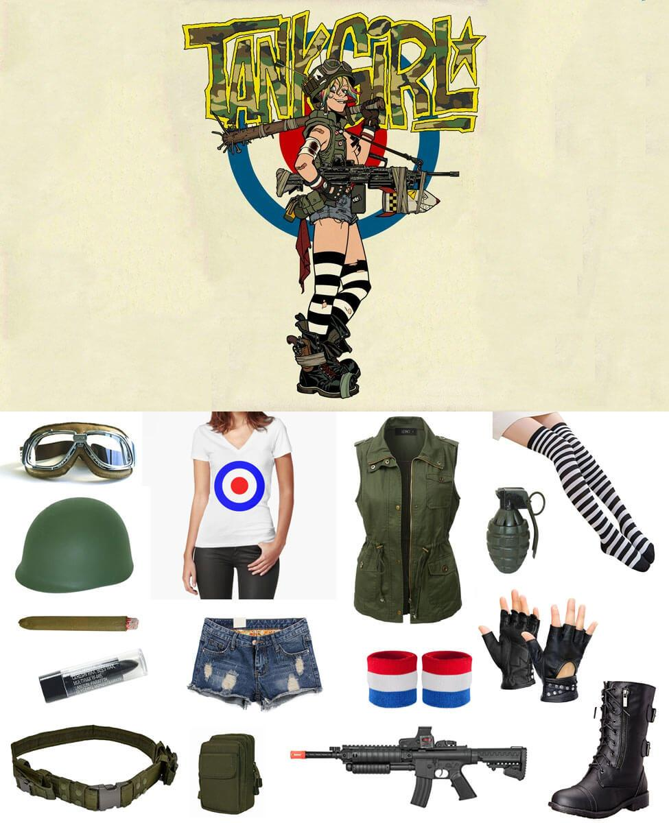 Tank Girl Cosplay Guide