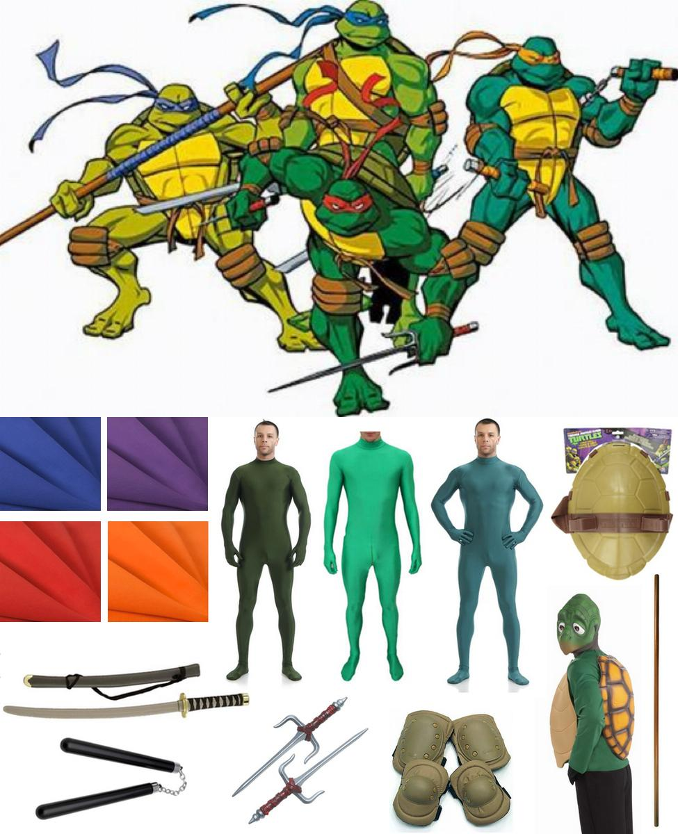 Teenage Mutant Ninja Turtles Cosplay Guide