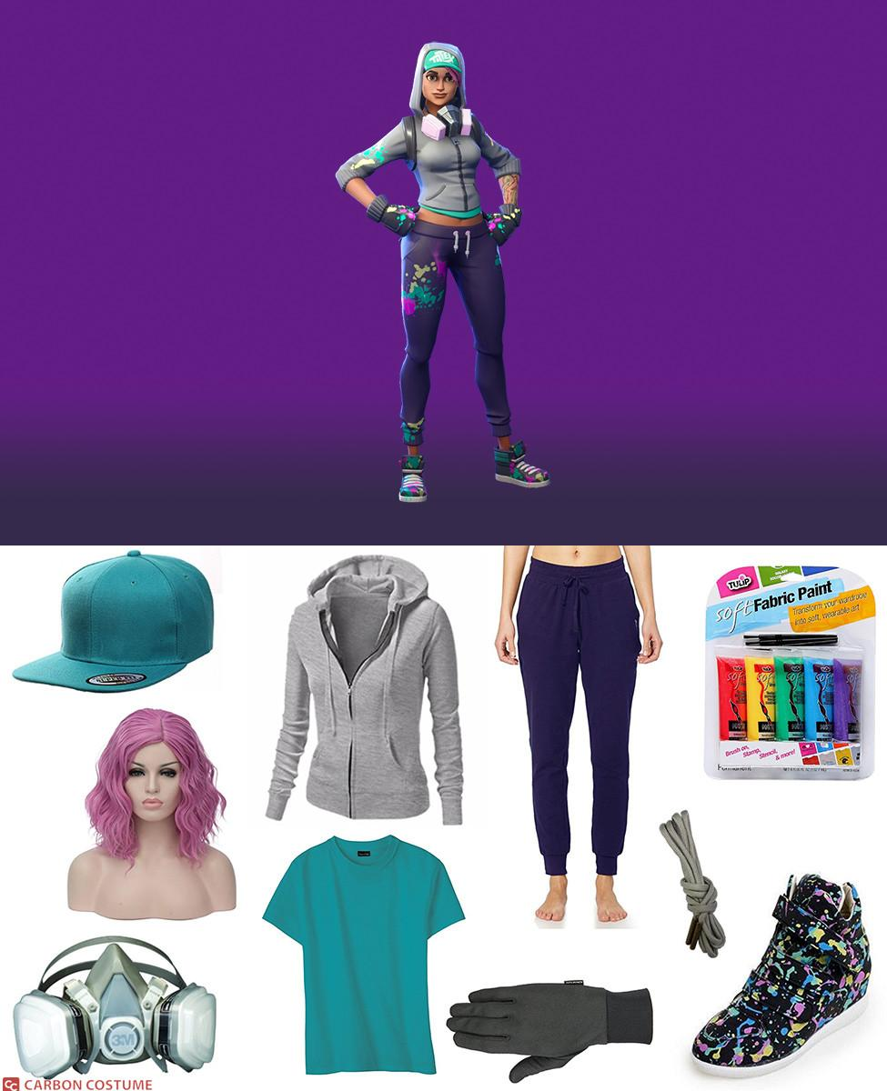 Teknique from Fortnite Cosplay Guide