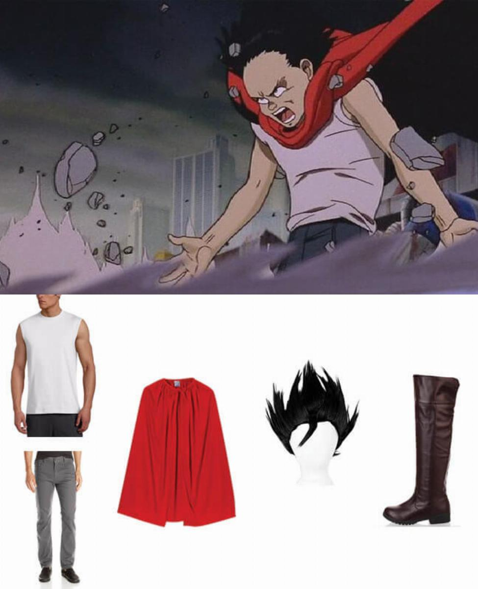 Tetsuo from Akira Cosplay Guide