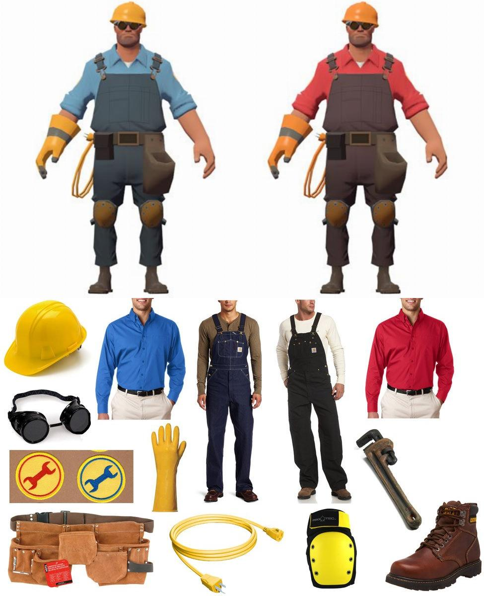 TF2 Engineer Cosplay Guide