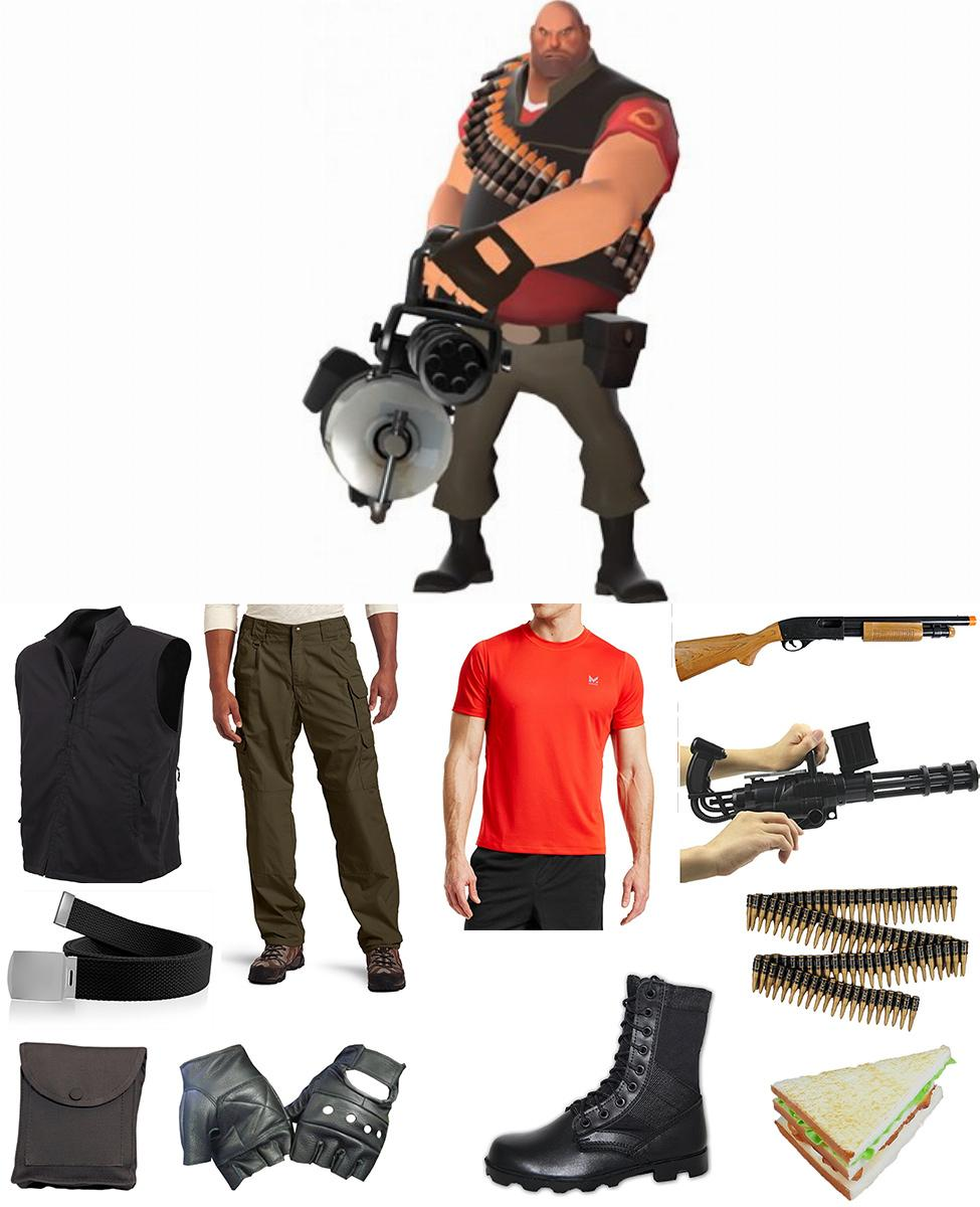 TF2 Heavy Cosplay Guide