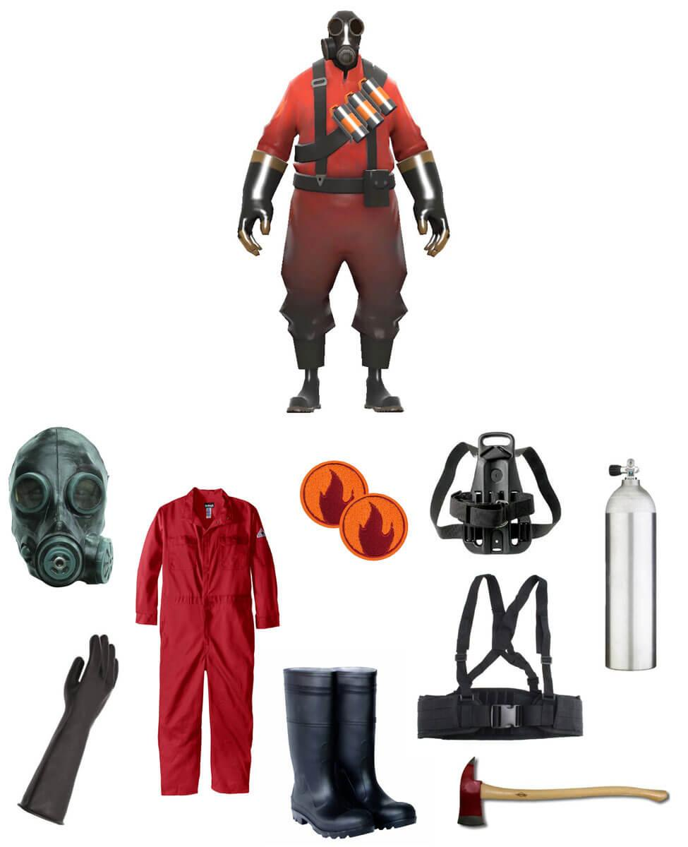 TF2 Pyro Cosplay Guide