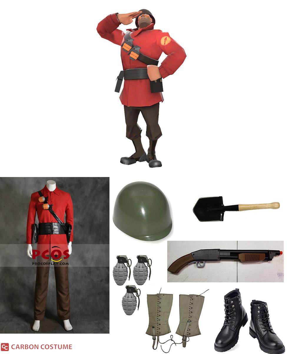 TF2 Soldier Cosplay Guide
