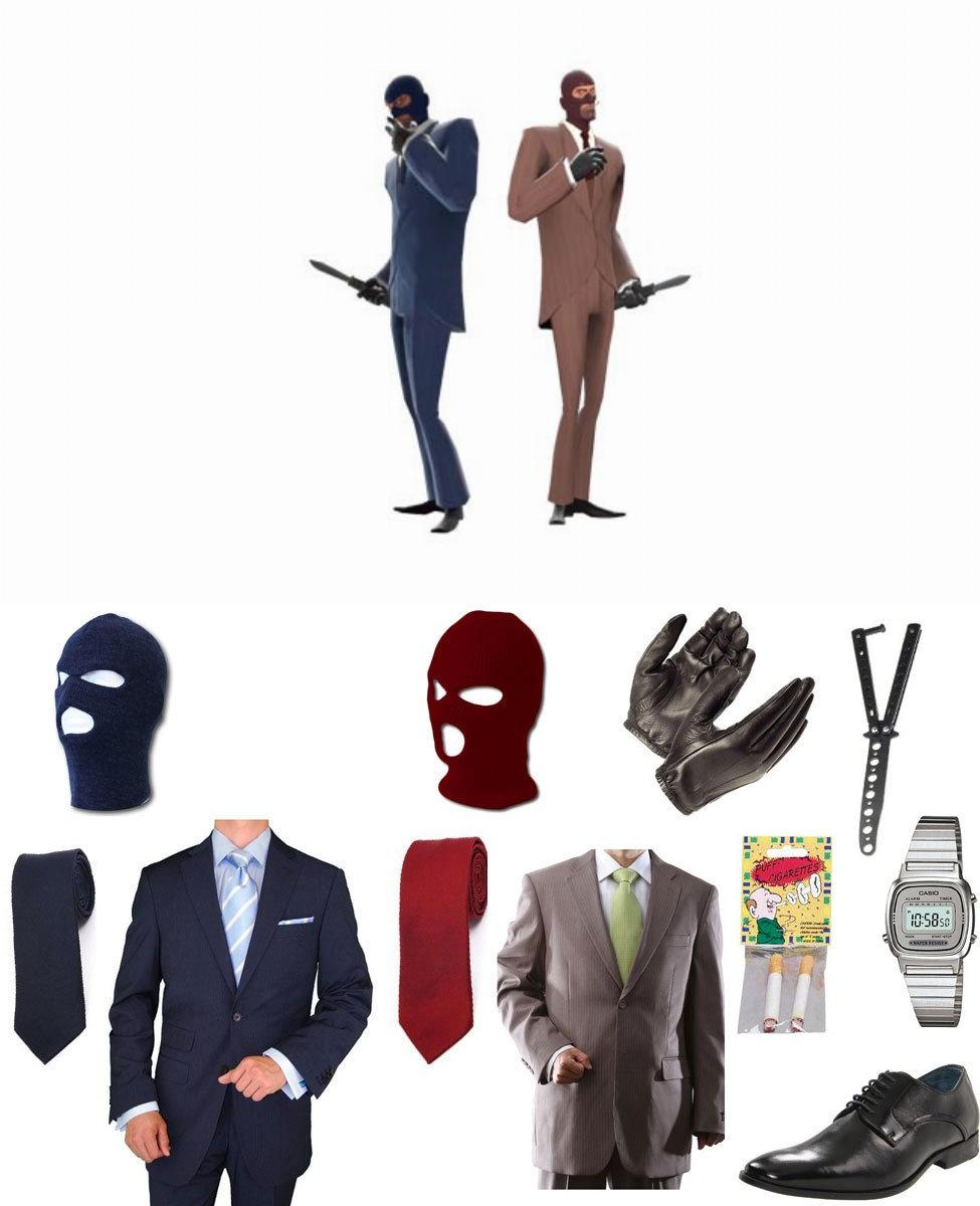 TF2 Spy Cosplay Guide