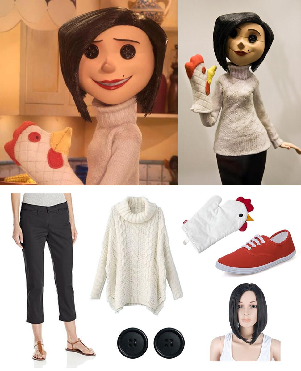 """The Beldam (Coraline's """"Other Mother"""") Cosplay Guide"""