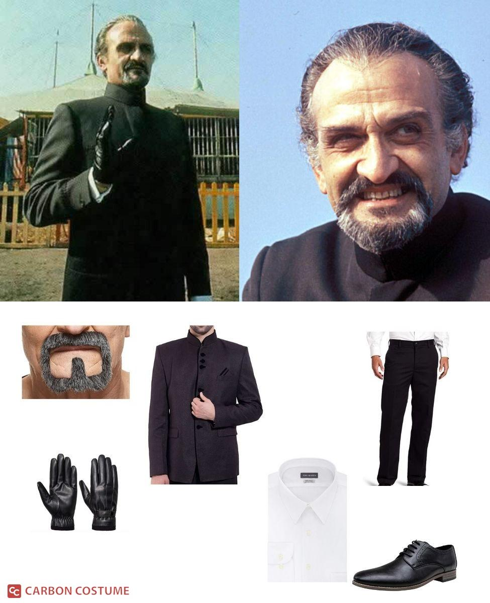 The Master (1971) from Doctor Who Cosplay Guide