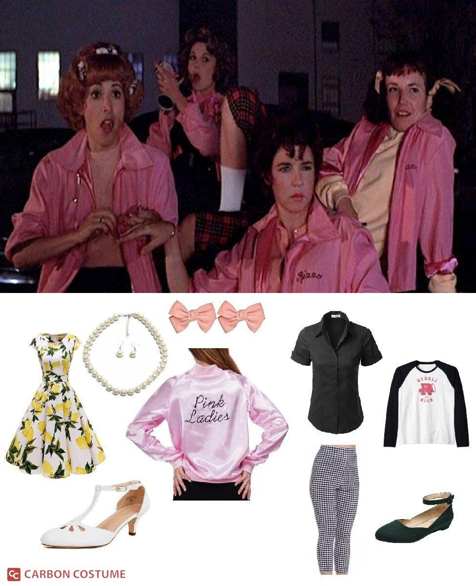 The Pink Ladies from Grease Cosplay Guide