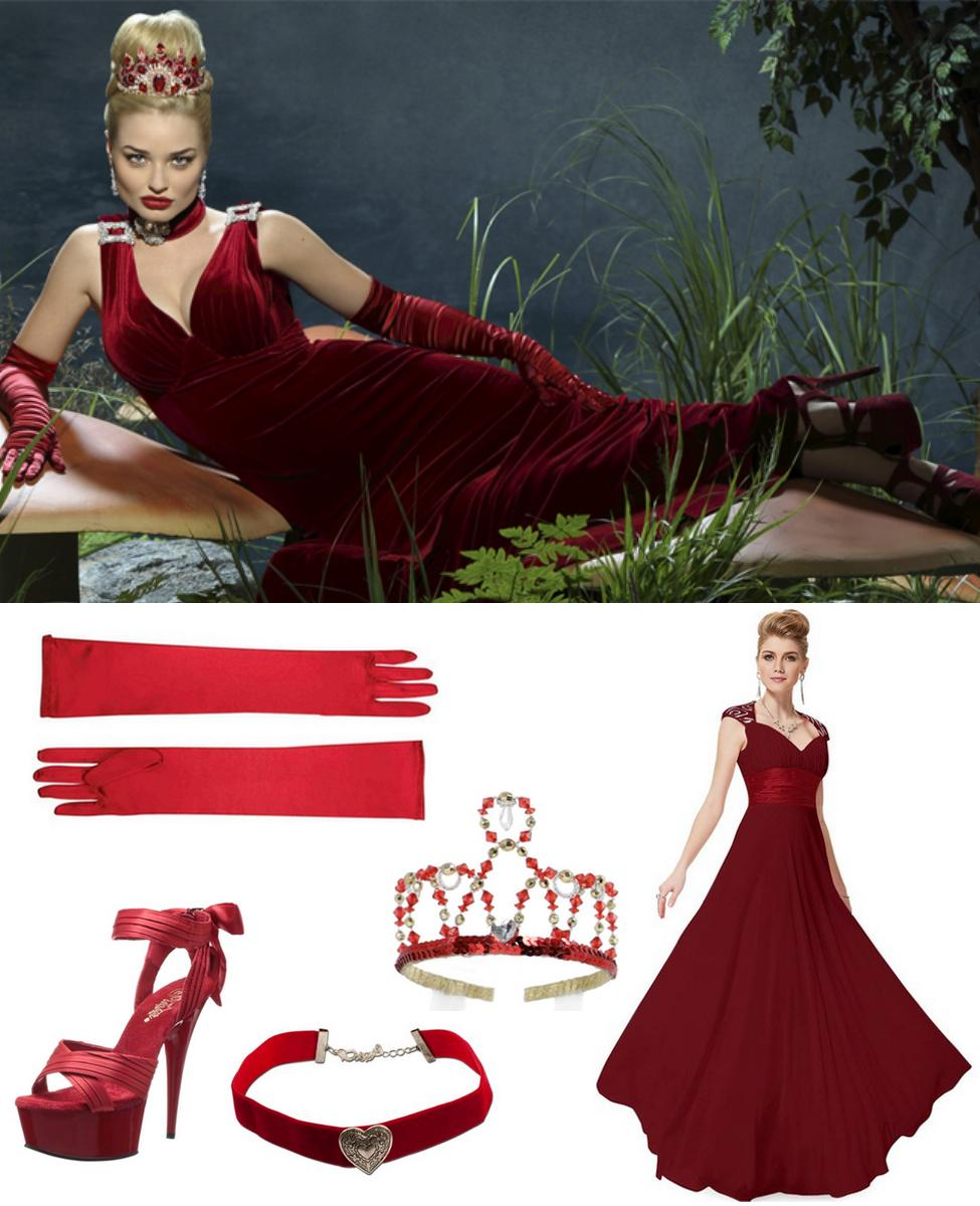 The Red Queen from Once Upon a Time in Wonderland Cosplay Guide
