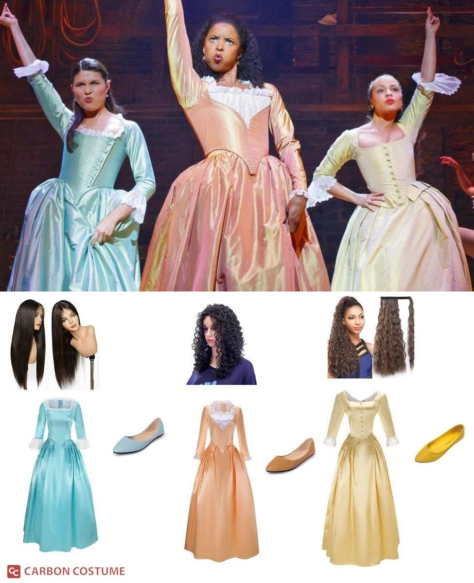 The Schuyler Sisters from Hamilton Cosplay Guide