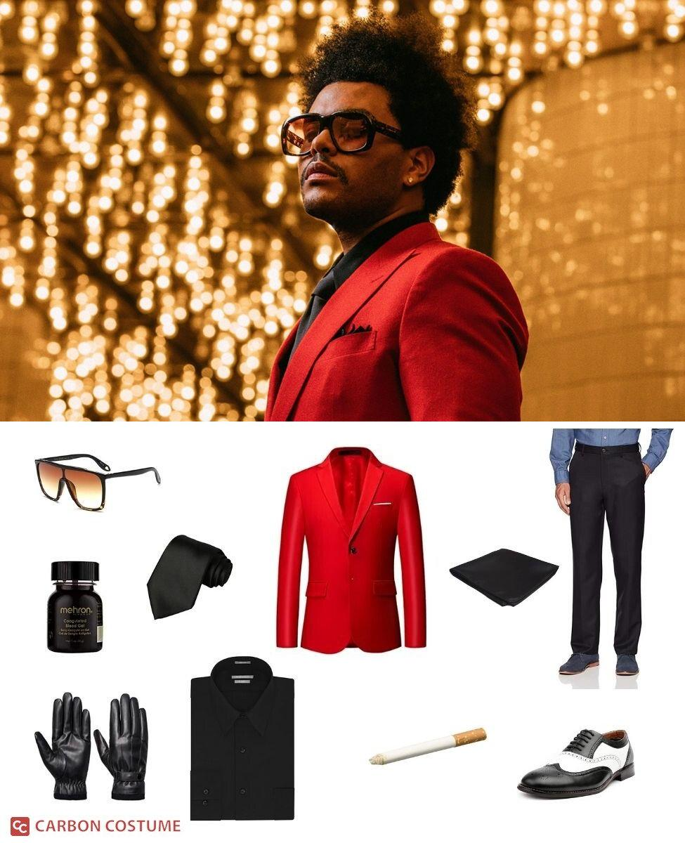 """The Weeknd in """"Blinding Lights"""" Cosplay Guide"""