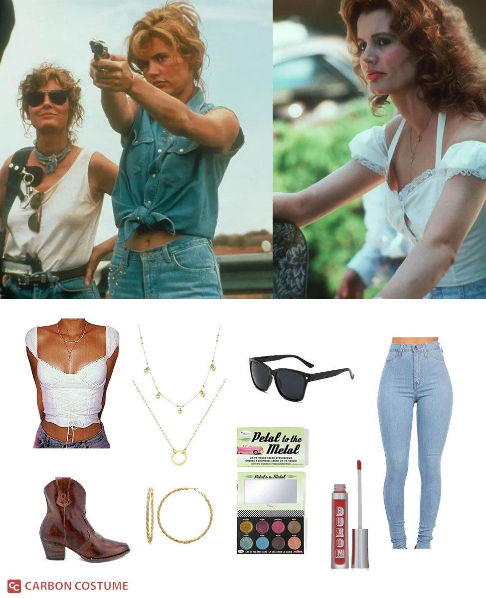 Thelma Yvonne Dickinson from Thelma and Louise Cosplay Guide