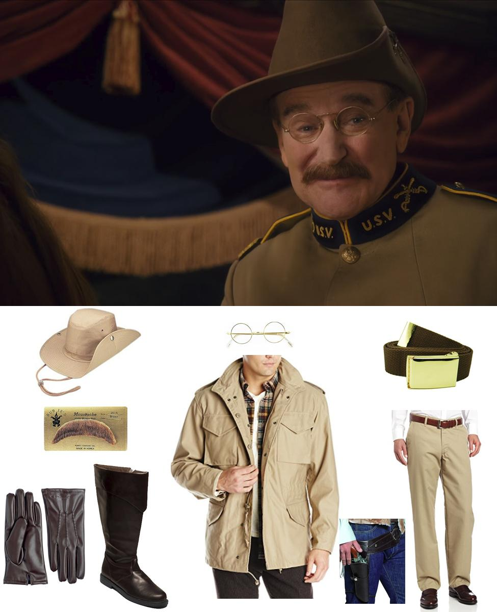 Theodore Roosevelt from Night at the Museum Cosplay Guide