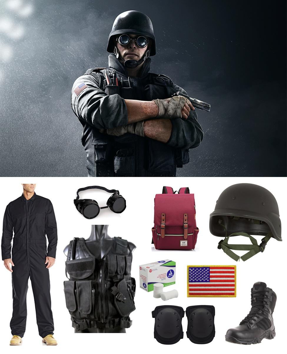 Thermite from Rainbow Six Siege Cosplay Guide
