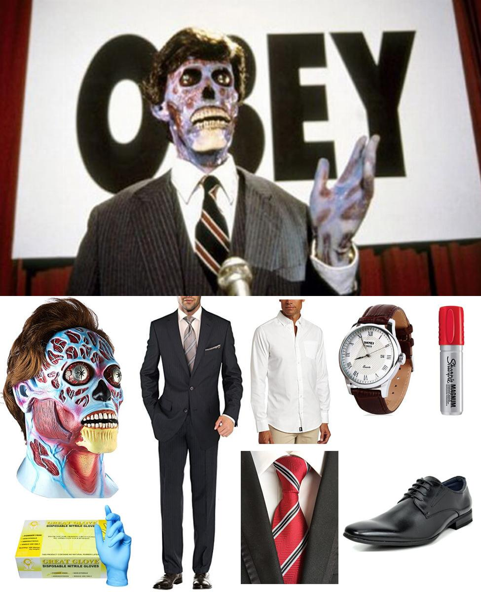 They Live Alien Cosplay Guide