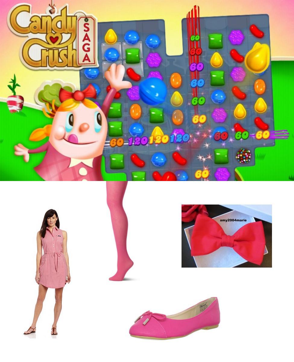 Tiffi from Candy Crush Saga Cosplay Guide