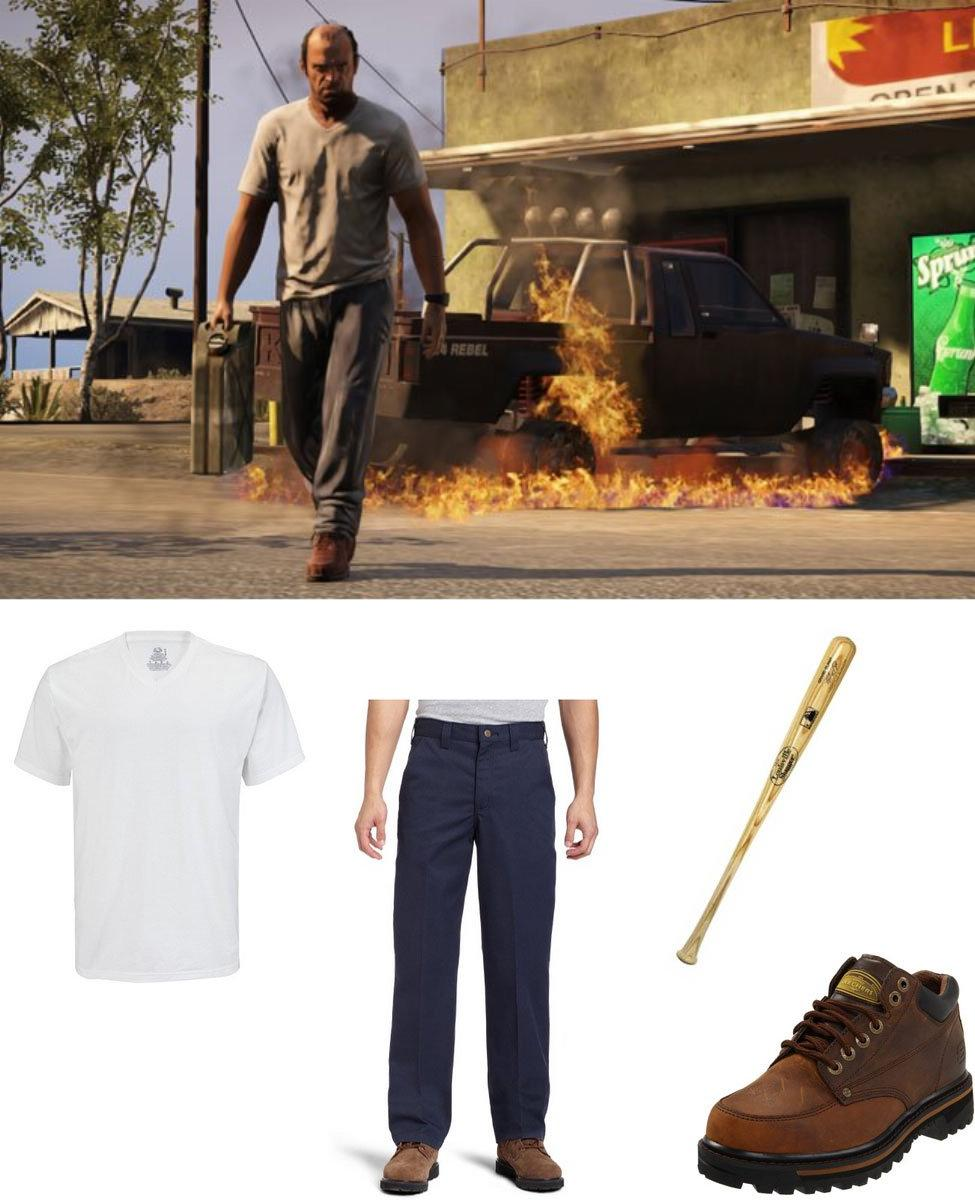 Trevor from GTA5 Cosplay Guide