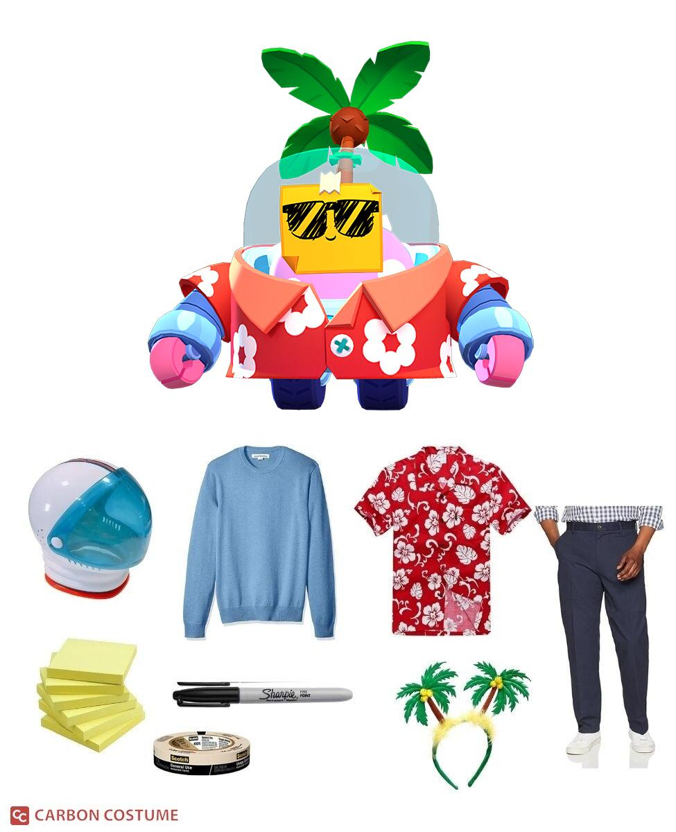 Tropical Sprout from Brawl Stars Cosplay Guide