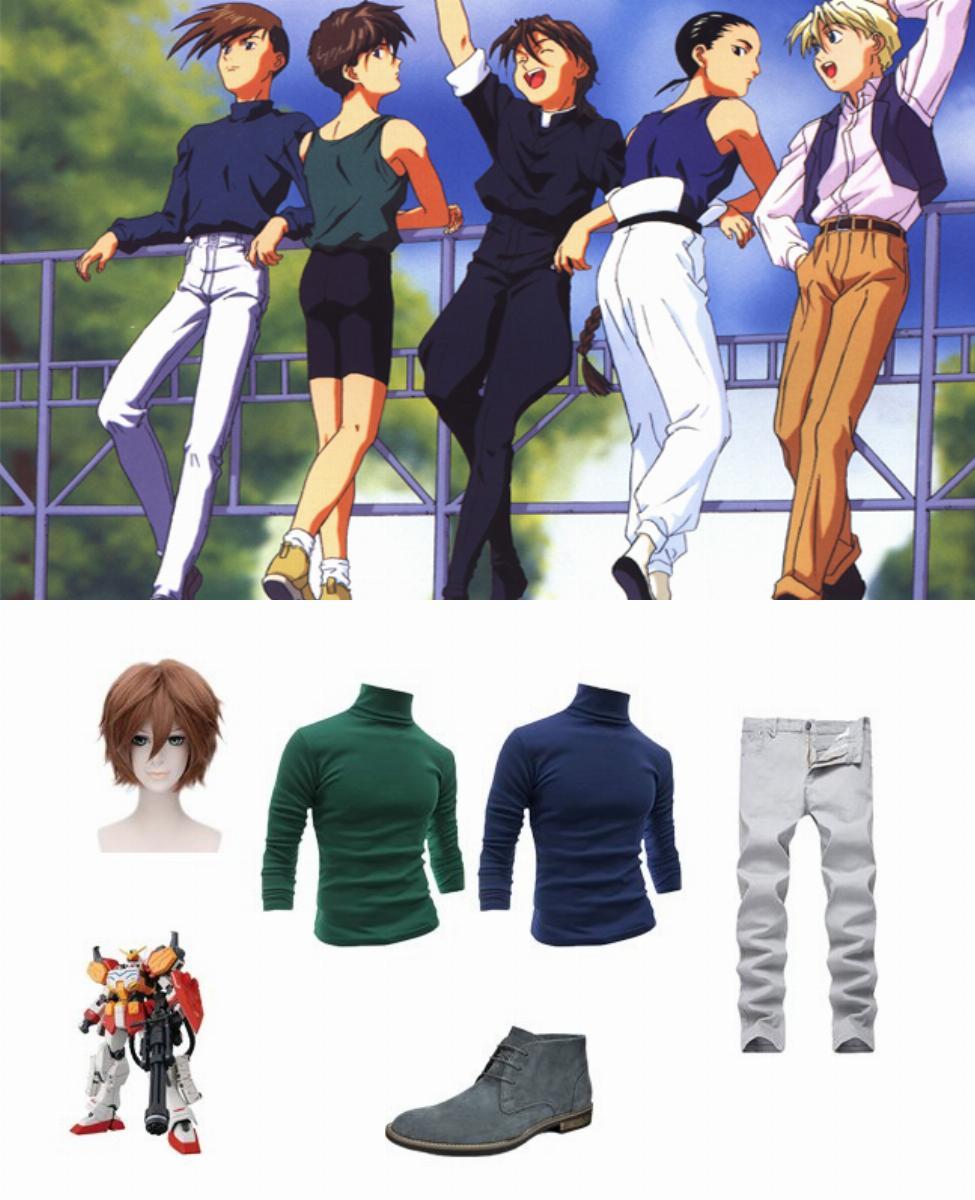 Trowa Barton in Mobile Suit Gundam Wing Cosplay Guide